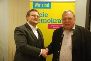 v. r.: Andreas Knapp, Daniel Alexander Schmidt